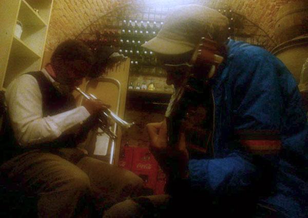 Beatmac improvisando con Graham Haynes