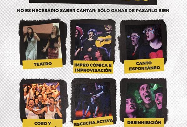 Impro Musical en la Escuela de Teatro Musical María Beltrán