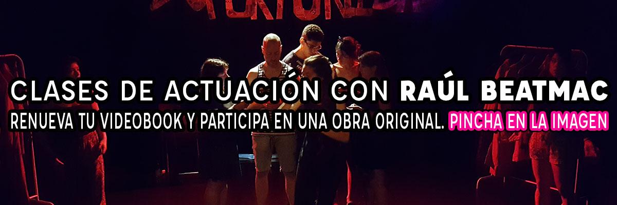 Clases de actuación en Madrid