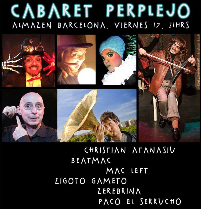 Cabaret Perplejo – Almazen Barcelona