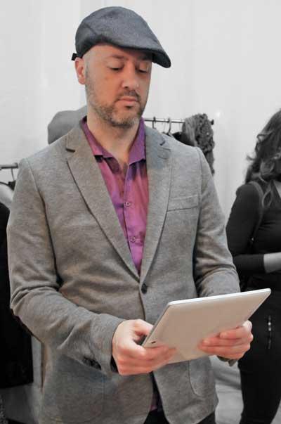 Óscar Quiles, como Rodrigo.
