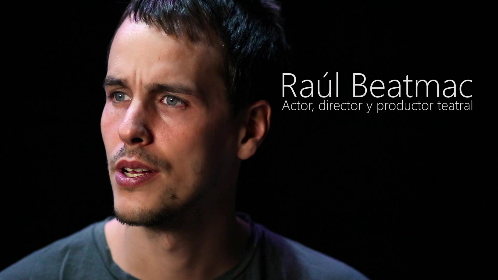 Entrevista a Raúl Beatmac para las Jornadas Nacionales de Formación Escénica